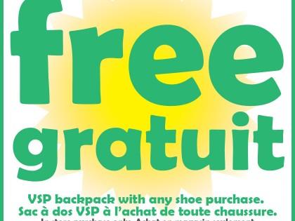 Free VSP Backpack