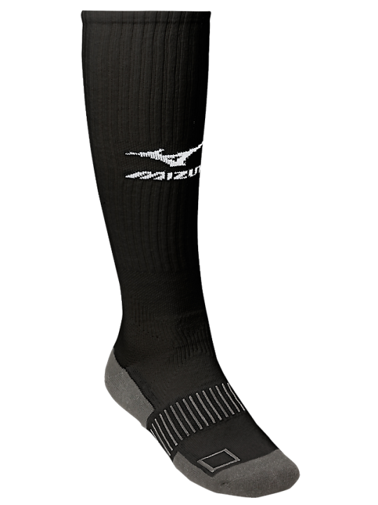 Black MIZ knee hi sock