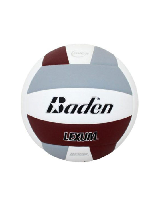 Baden-balls-perfection-maroon-grey