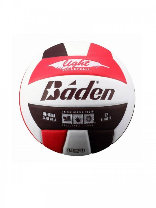 Baden-balls-light-red-black