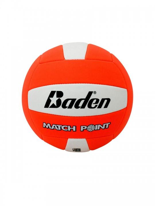baden-balls-matchpoint-neonorange-white