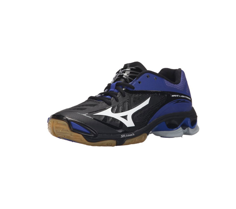 nike volleyball shoes blue and black style guru fashion