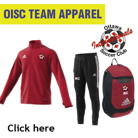 Ottawa Internationals Soccer Club Team Apparel