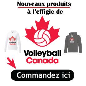 Vestimentaire Volleyball Canada
