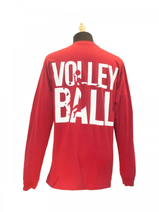 red-volleyball-longsleeve-back